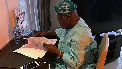 Former Nigerian leader Obasanjo urges West African govts to decriminalise drugs