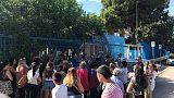 Taranto,gas Radon in aule scuole Tamburi