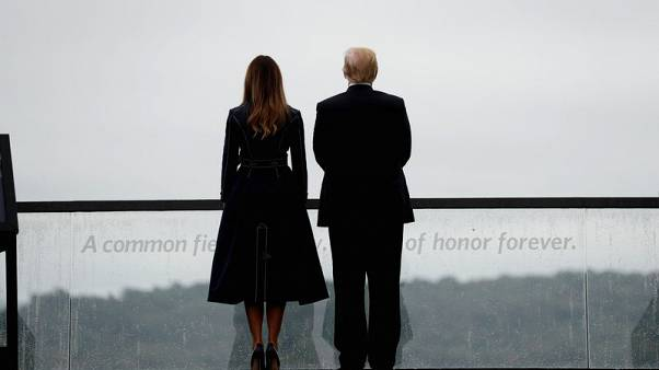 Trump cites 'American defiance' in 9/11 tribute to victims