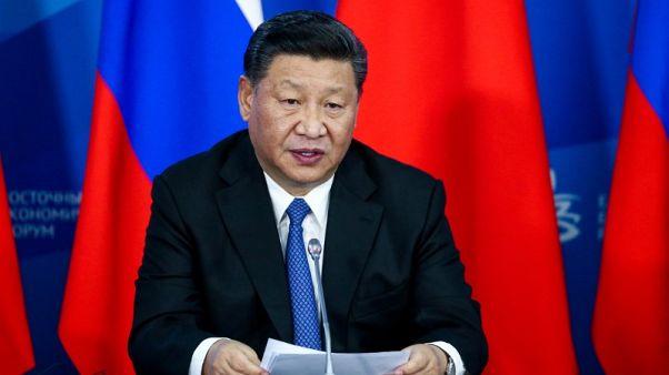 رئيس الصين يدعو لاتحاد موسكو وبكين لمحاربة الحماية التجارية