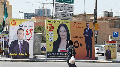 Iraqi Kurds gear up for elections hoping to end turmoil
