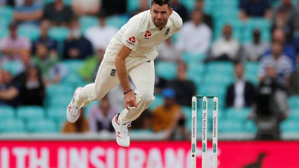 England's Anderson overtakes McGrath as leading test paceman