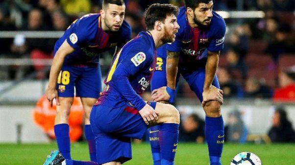 Liga negli Usa,Girona-Barça 26/1 a Miami