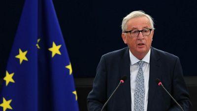 Juncker plaide pour une Europe plus forte dans un monde en crise