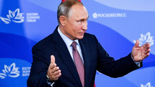 Putin says global protectionist trend challenges Asian economies