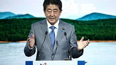 Japan's Abe says he wants to meet North Korean leader Kim