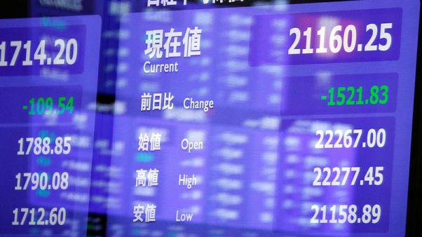 المؤشر نيكي يرتفع 0.17% في بداية التعاملات بطوكيو