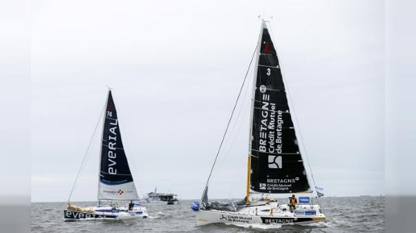 Solitaire du Figaro: nouvelle victoire de Sébastien Simon