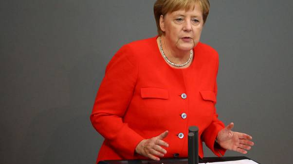 Germany can't look away when chemical attacks take place - Merkel