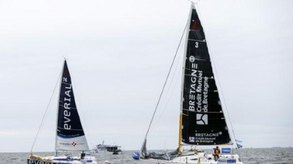 Solitaire du Figaro: Simon prend le large avec une nouvelle victoire