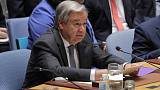 U.N. decries 'shameful' reprisals on rights activists in 38 countries