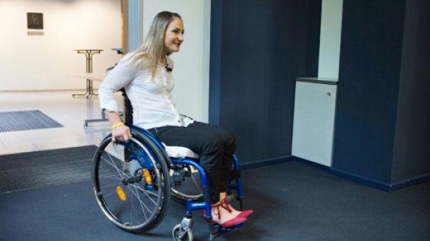 Cyclisme sur piste: Kristina Vogel, paraplégique, se veut optimiste