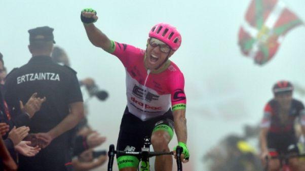 Tour d'Espagne: Woods gagne au sommet, Yates leader bousculé, lors de la 17e étape