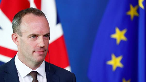 Raab - Brexit deal attainable, but no deal means no EU payment: Telegraph
