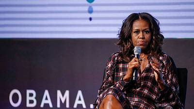 Michelle Obama announces stadium tour to support 'Becoming'