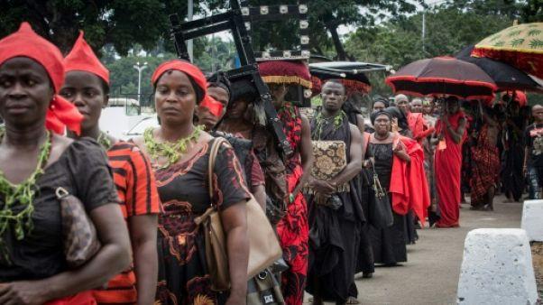 Le Ghana enterre l'ancien secrétaire général des Nations unies, Kofi Annan