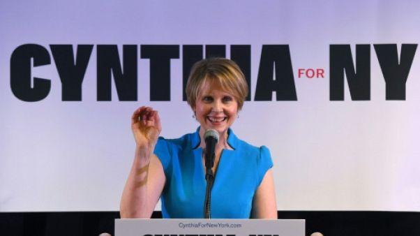L'actrice Cynthia Nixon en outsider face au gouverneur de New York pour la primaire