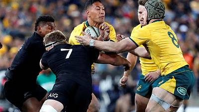 Folau shunted out to wing for Wallabies return against Pumas