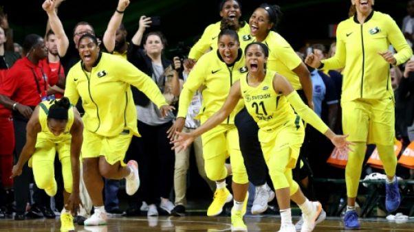 Basket WNBA: Seattle sacré pour la 3e fois