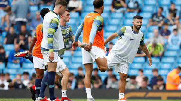 """Aguero says pain-free, in """"peak"""" condition after knee surgery"""