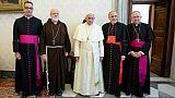 Le pape en mode démineur a reçu la conférence épiscopale américaine