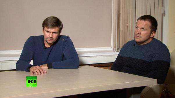 Russians in UK spy case say they wanted to see cathedral; Britain calls it 'lies'