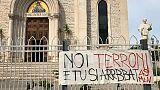 Striscione contro Salvini, sequestrato