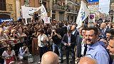 Salvini, a Bari più uomini Forze Ordine