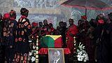 Ghana bids farewell to former U.N. chief Kofi Annan
