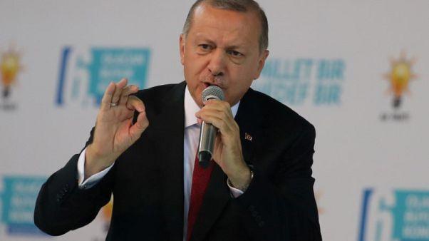 أردوغان: البنك المركزي مستقل لكنني ما زلت أعارض أسعار الفائدة المرتفعة