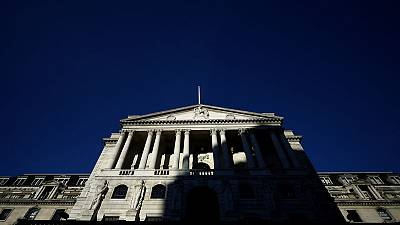 Bank of England holds rates steady, sees greater Brexit uncertainty