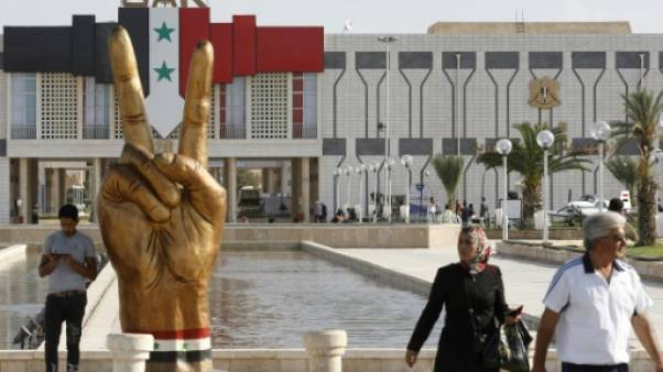 Lorgnant la reconstruction en Syrie, Moscou et Téhéran dominent la Foire de Damas