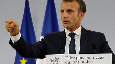 France's 'president of the rich' launches anti-poverty plan