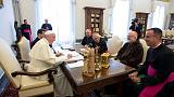 Pope orders inquiry into bishop as U.S. Church leaders discuss abuse crisis