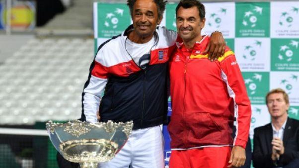 """Coupe Davis France-Espagne: """"Le choix n'était pas facile"""", déclare Noah"""