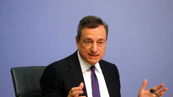 ECB's Draghi says words on budget have caused economic damage in Italy