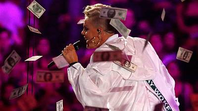 Turkey fines TV channel for Pink's video with dancing of 'homosexual nature'