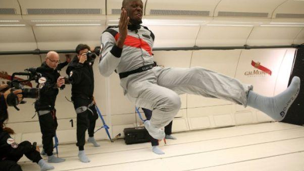 Usain Bolt s'offre un sprint en apesanteur