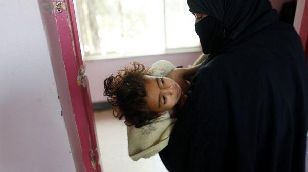 """يونيسف: الحرب في اليمن """"جحيم مقيم"""" للأطفال"""