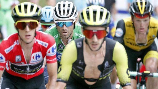 Vuelta:a Wallays 18/a tappa,Yates leader