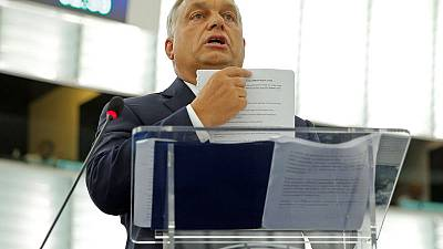 Hungary's Orban bets on growing anti-immigrant tide in latest EU standoff