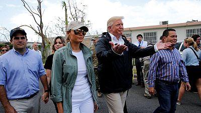 Trump disputes Puerto Rico storm death toll, blames Democrats