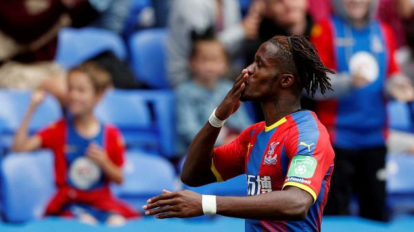 Palace's Zaha returns to training ahead of Huddersfield clash