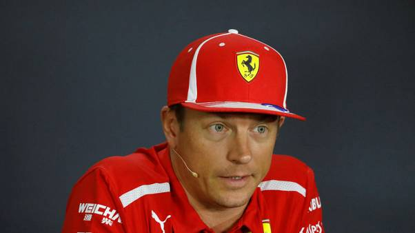 Iceman Raikkonen gives cold shoulder to questions on future