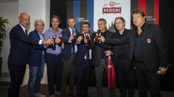 Peroni sponsor Inter e Milan per S. Siro