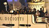 Sei migranti Diciotti partiti da Milano