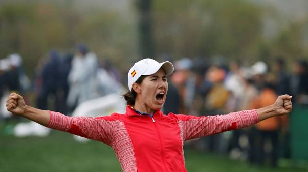 Ciganda feels at home in France to share Evian lead