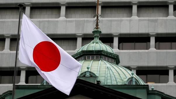 Japan government more bullish on capex, eyes on U.S.-China trade row