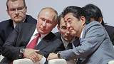PM Abe says Putin's comment shows desire for Japan-Russia peace treaty
