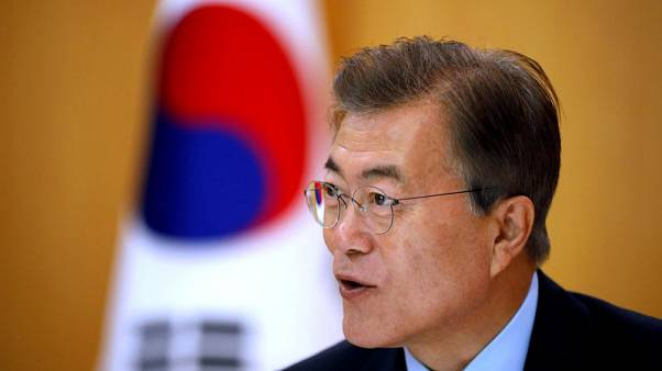 At summit, South Korea's Moon seeks to play 'chief negotiator' between Kim, Trump